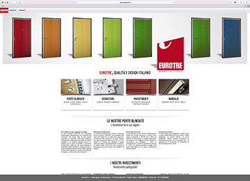 Eurotre Porte - website