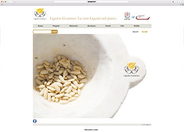 Liguria Gourmet - website